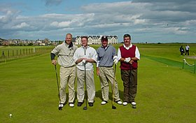 Richard Smith - Golf Trip to Scotland