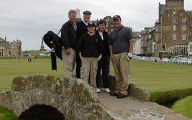 Frank Aycock - Golf trip to Scotland