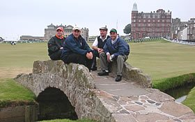 Patrick Aylward at Old Course St Andrews