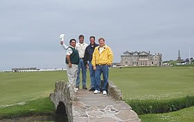 dorow group - golf trip scotland