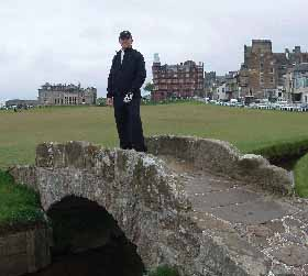 Ed Martin - st andrews old course