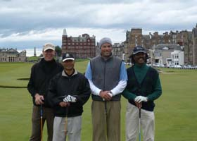 Dave Grace - Photo taken on Old Course St Andrews