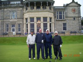 hallacy group - scotland golf trip