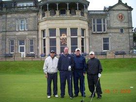 hallacy group - scotland golf trip