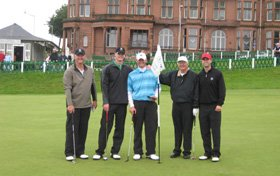James Hoekstra and Party - Golf Vacations Scotland