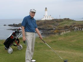 Frank Knoerdel - scotland golf package