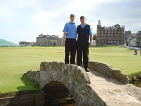 liseth - scotland and england golf tour