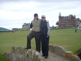 Morrison Party - golf vacations scotland