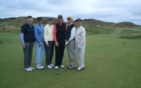 sencevicky group - ireland golf trip