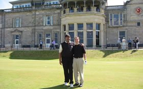 eisenberg party - scotland golf trip