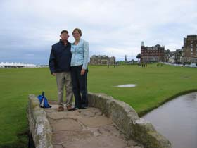 walker - golfing trip scotland